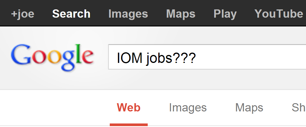 How To Get An IOM Job