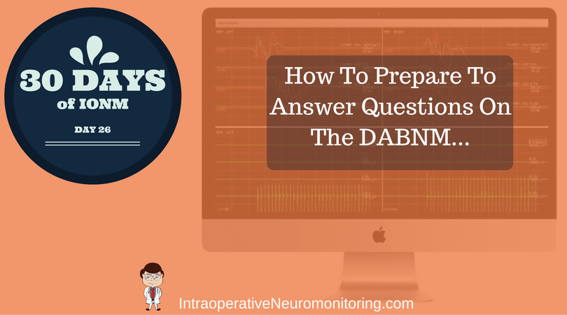 How To Answer A DABNM Question